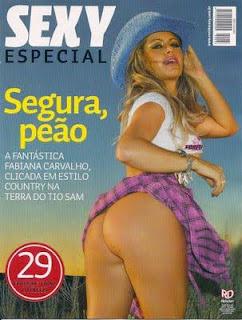Download Fabiana Carvalho  Sexy Especial - Agosto 2009