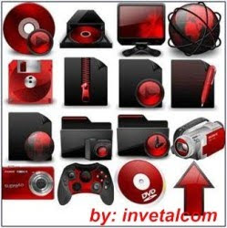 Download - Pacote Red Icones