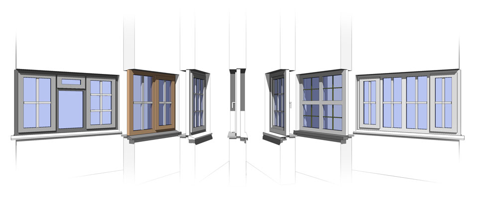 Revit Door Download & Single Flush Door Revit Family   Single Glass