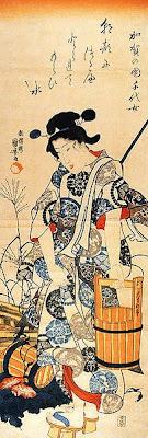 WOODCUT by Utagawa Kuniyoshi