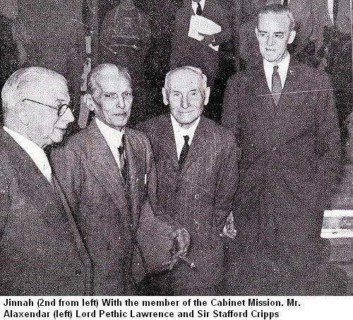 The Cabinet Mission 1946 Quaid E Azam Mohammad Ali Jinnah