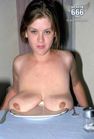 ugly pointy tits