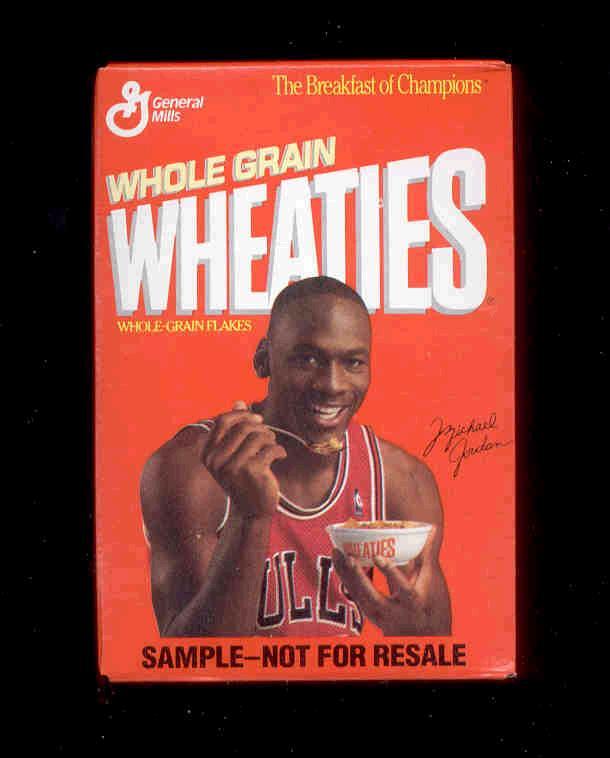 Elroy Flakes: Of Wheaties