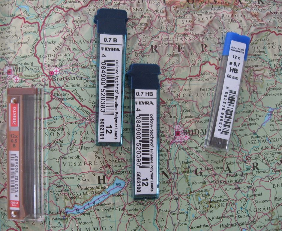 dmp dave s mechanical pencils leads from austria and slovakia