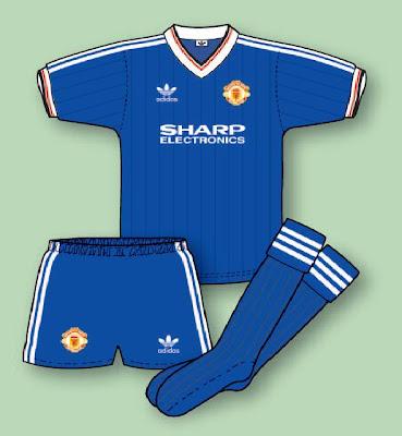 b0dc8155d27 Manchester United Football Shirt History  January 2010