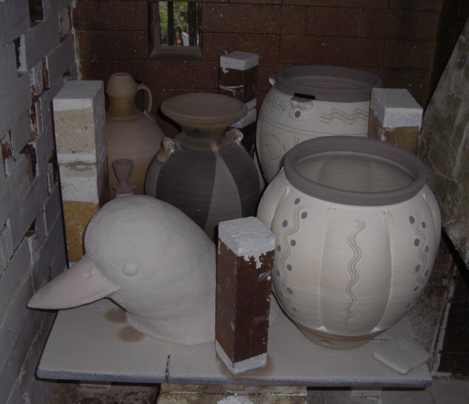 Dan Finnegan Studio Pottery April 2010