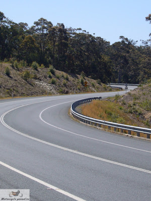 Australia's best motorcycle roads. Clyde Mountain.