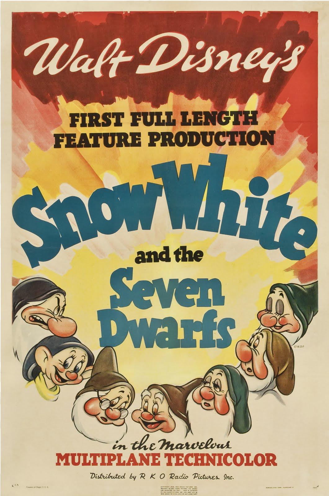 snow white movie posters
