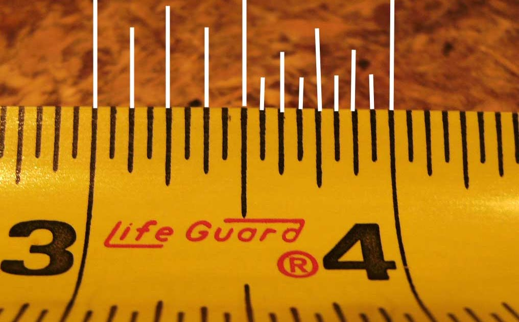 Getneds Official Blog How To Use And Read A Tape Measure