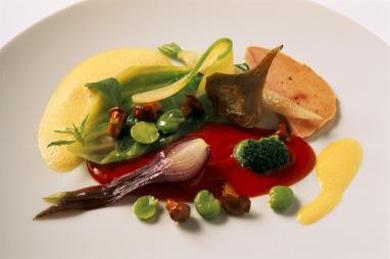 comida y bebidas Nouvelle Cuisine