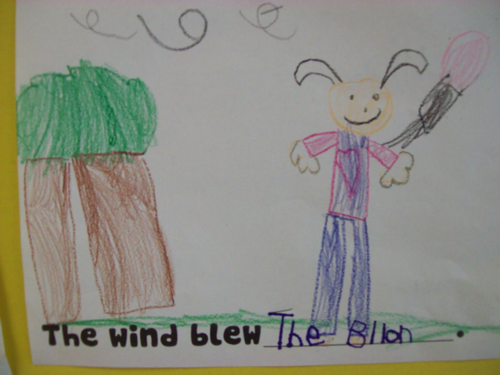 Chalk Talk A Kindergarten Blog The Wind Blew