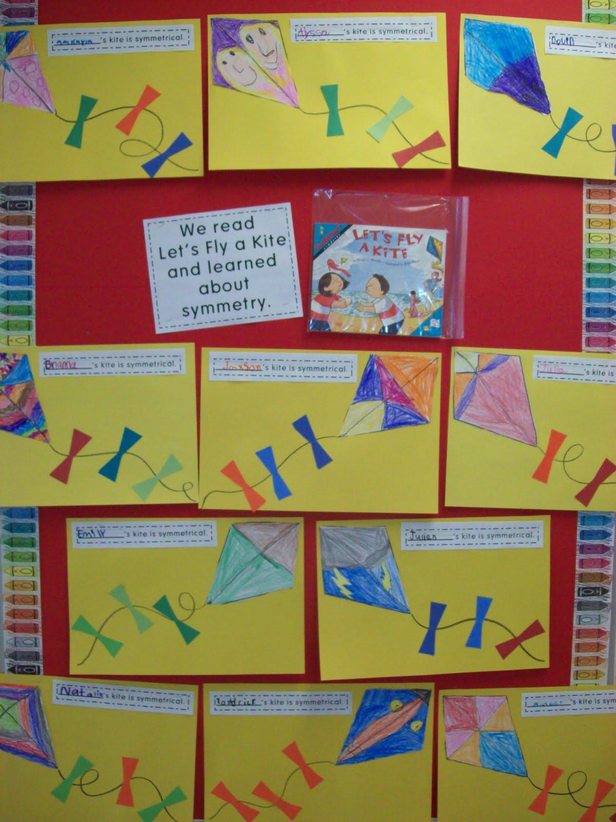 Kindergarten Chronicles A Kindergarten Blog Symmetry