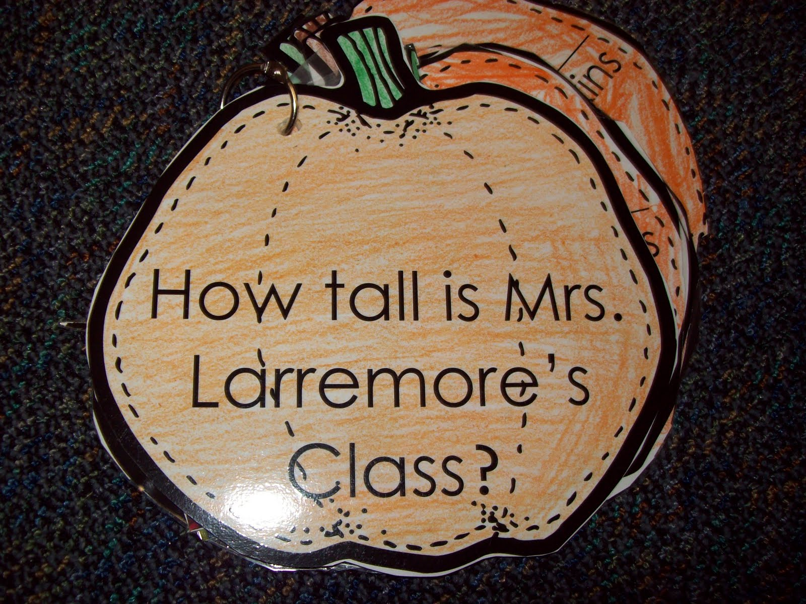 Chalk Talk A Kindergarten Blog Pumpkin Measurement