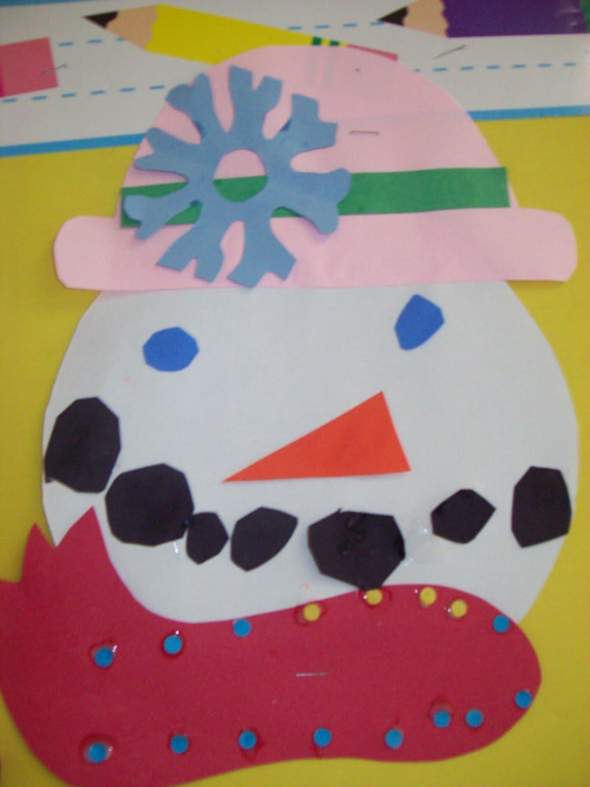 Kinder Garden: Chalk Talk: A Kindergarten Blog: Snowman Glyph