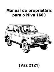 Manual do Proprietário LADA NIVA 1600