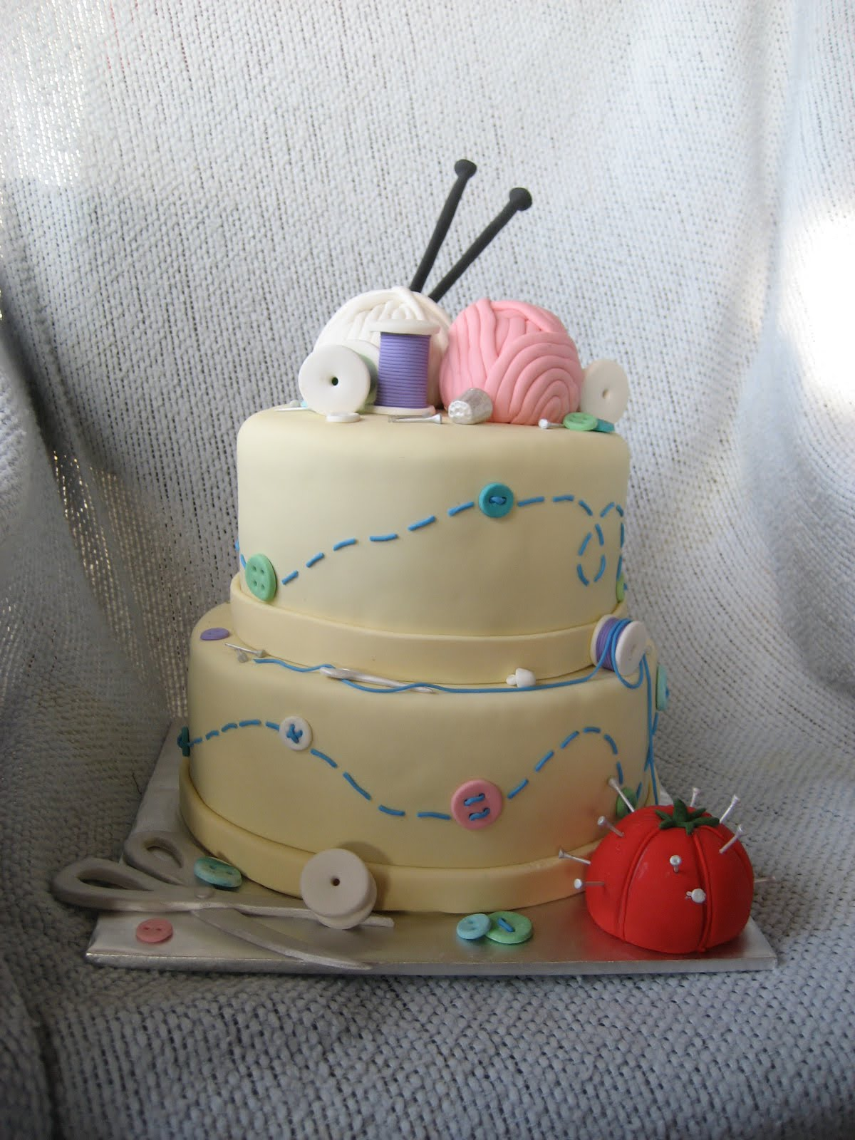 1000+ images about Knitting Cakes on Pinterest | Knitting ...
