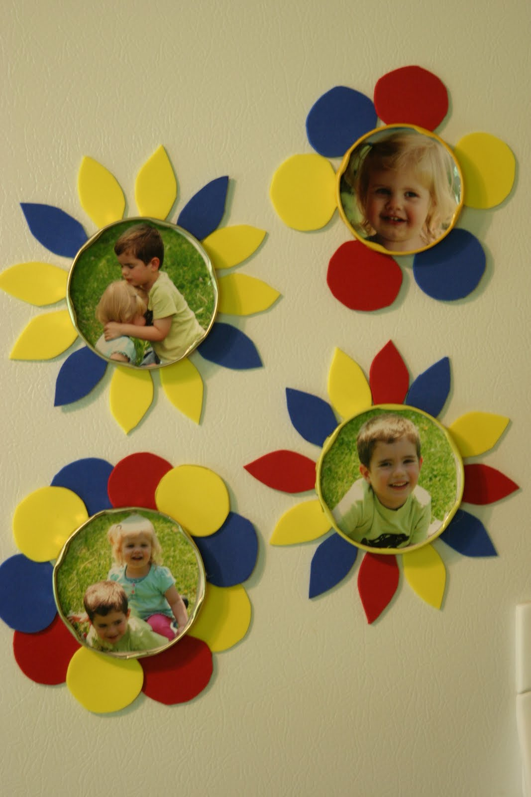 Preschool Crafts For Kids Mother S Day Picture Magnets Craft