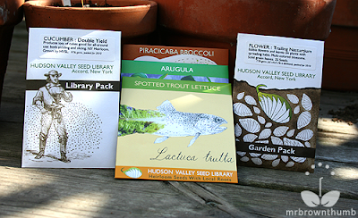 Hudson Valley Seed Library seed packs