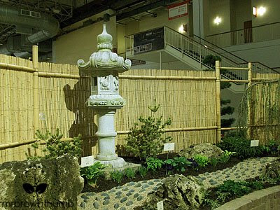 Asian lantern, Asian garden, Chicago Flower & Garden Show