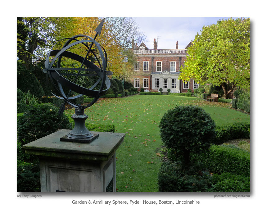 Fydell House, An Armillary Sphere And Doggerel