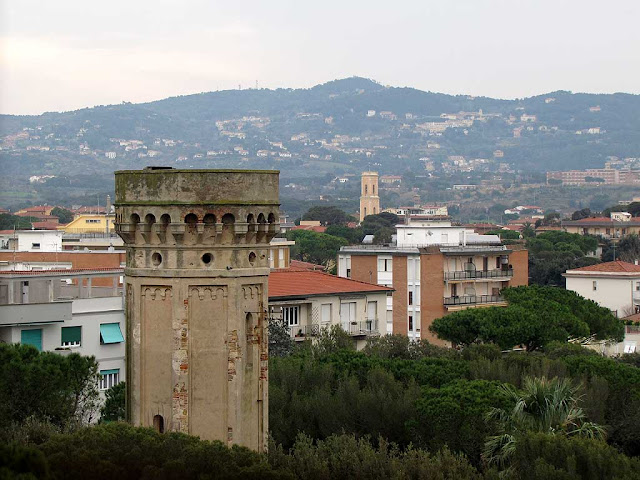 View from Villa Letizia, Livorno