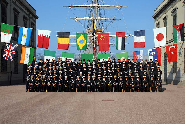 Foreign Navies ceremony, piazza del Municipio, Town Hall, Livorno