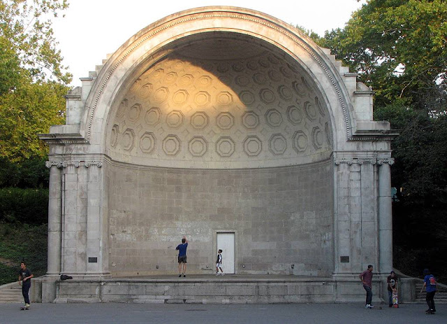 Naumburg Bandshell by William G. Tachau, New York