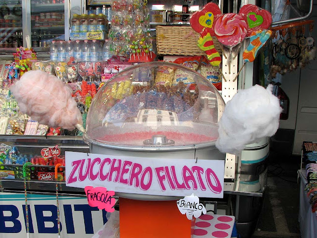 Fiera di Sant'Antonino, cotton candy, Livorno