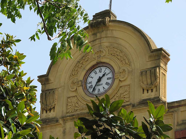 Clock of the former Pirelli factory, Livorno