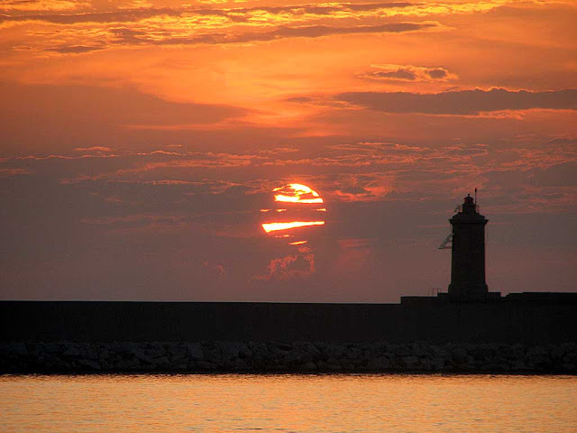 Sunset, Livorno
