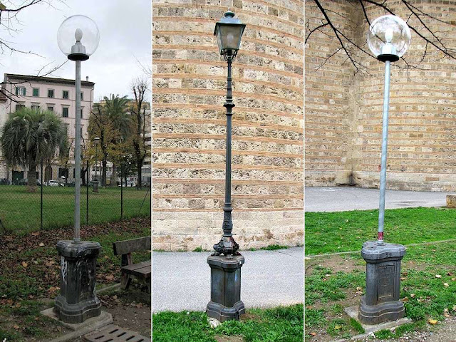 Low-cost lamp posts, Livorno
