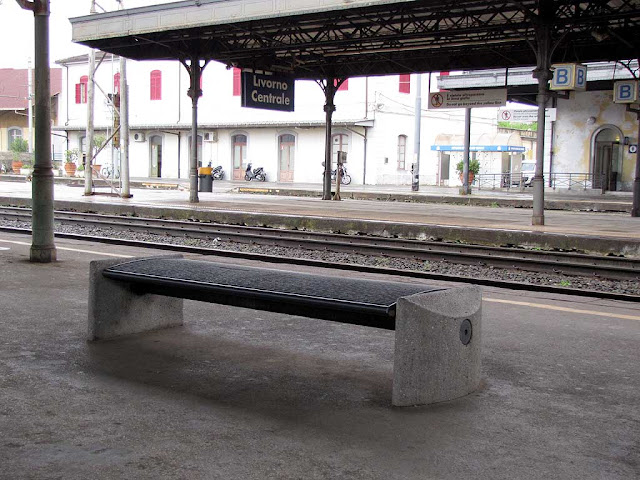 Bench, Livorno Centrale railway station