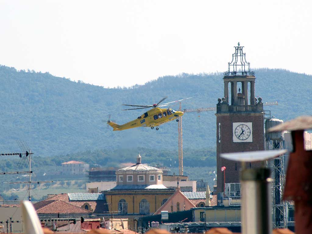 AW139 I-BEPP, City Hospital, Livorno