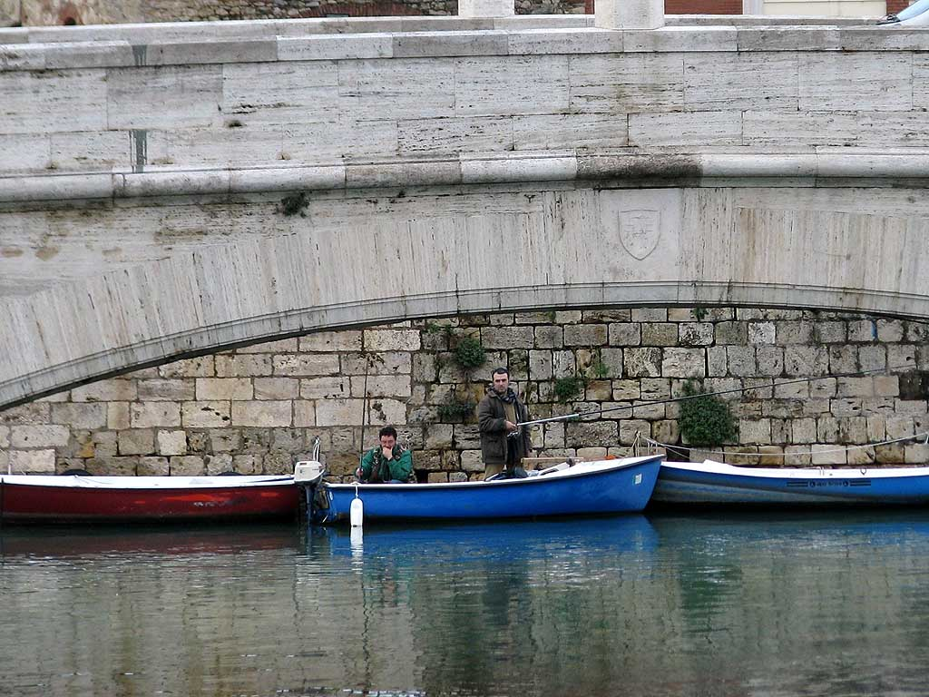 Anglers, New Harbour, Livorno
