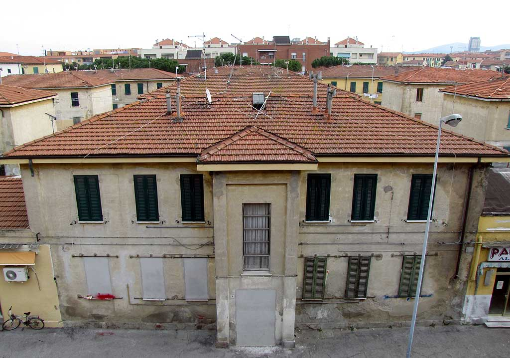 Old buildings, Corea quarter, Livorno