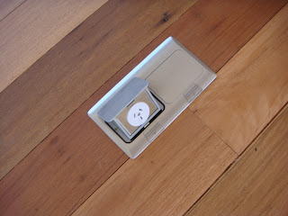 Maleny House Photographic Diary Floor Mounted Power Point In