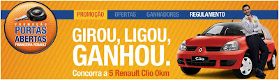 Promoção Portas Abertas Renault 2010