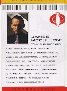 James McCullen, weapons supplier, founder of MARS