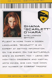 Shana Scarlett O'Hara, Intelligence Officer