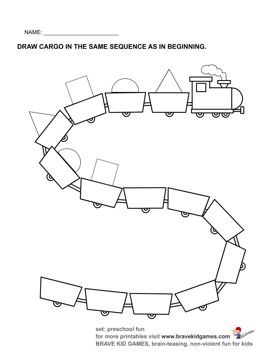 follow the pattern learningenglish esl. Black Bedroom Furniture Sets. Home Design Ideas