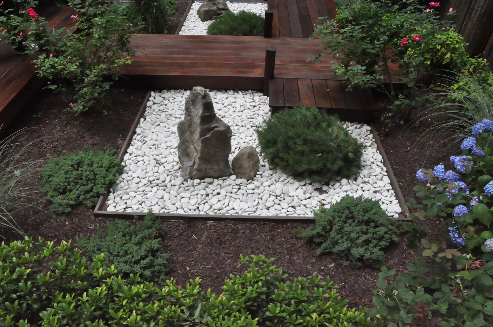 Small Zen Garden Design Photograph   This small rock garden