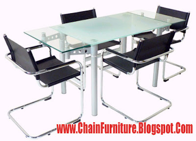 Chanies Dining Tables With Dining Chairs