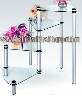 Glass Tabel Stand