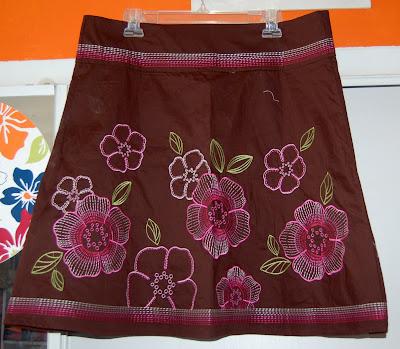 Modistamodesta Custom A Line Skirt With Yoke Pattern
