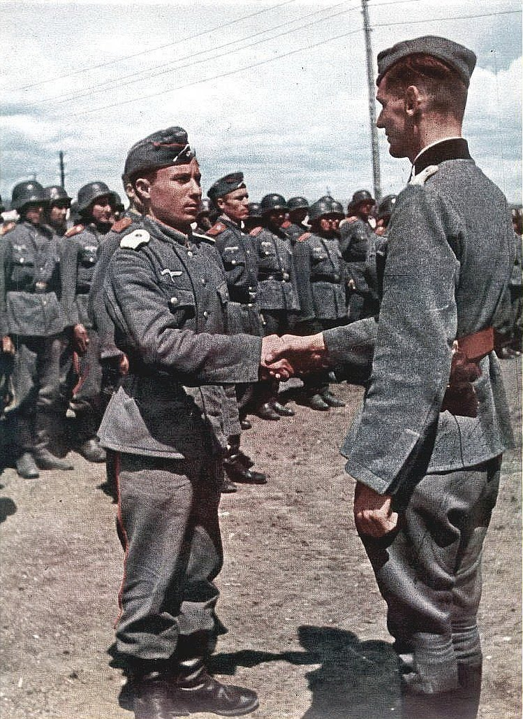 Third Reich Color Pictures: Nazi Foreign Volunteers in Color