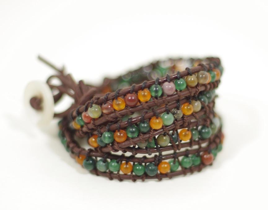 Chan Luu Inspired Wrap Bracelet Diy Tutorial