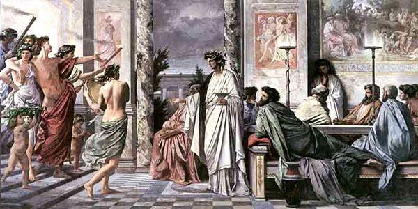Αποτέλεσμα εικόνας για Η φιλοξενία στην αρχαία Ελλάδα.