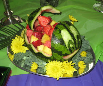 Karen Bs Cooking Made Easy How To Carve A Watermelon Basket