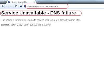 ¿Facebook caído?