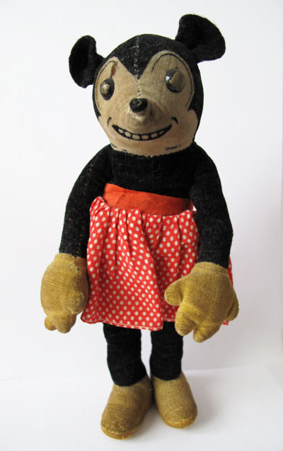 deans minnie mickey mouse 1930's doll